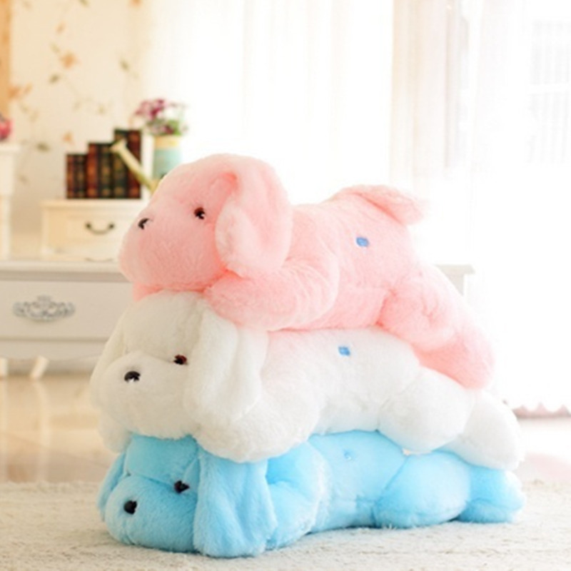 40CM Creative toy Cute Inductive dog nightlight plush toy LED glow pillow soft light up stuff ...
