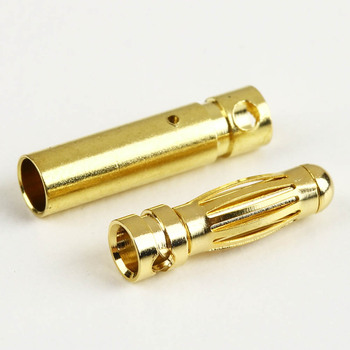 Hot Selling NEW 5.0 Mmale Gold Bullet Banana Plug Connectors RC Battery Electronic Hook @ image