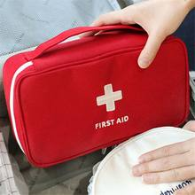 Portable Camping First Aid Kit Emergency Medical Bag Storage Case Waterproof Car kits bag Outdoor Travel Survival kit Empty bag(China)