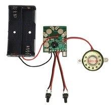 Микро Цифровая запись и воспроизведение голосовой IC чип звуковой модуль DIY наборы рекордер Запись Ручка разговор, музыка поздравление