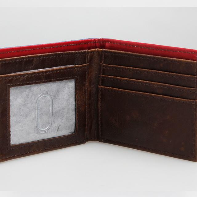 Captain America Leather Bi-fold Wallet