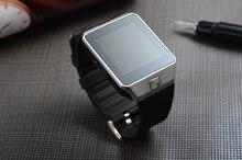 Bluetooth tragbare geräte armbanduhr smart watch dz09 für android-handy mit dual-sim-karte smartphone gesundheit smartwatches