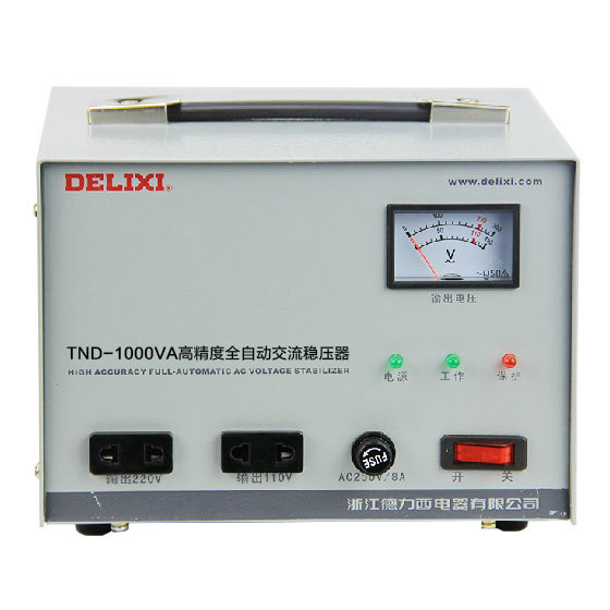 Single phase voltage stabilizer TND 1KVA 1KW household refrigerator ...
