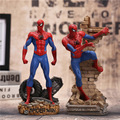 "Spiderman action figure toy 27 cm 10.6 ""super hero spider man figura modelo anime brinquedos brinquedo para meninos"
