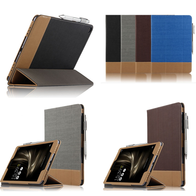 SD For Asus ZenPad 3S 10 Z500M Z500KL / Z10 ZT500KL 9.7 tablet PU leather Case cover Book cover Folio Shell Fashion Cases