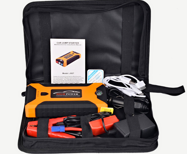 5L Petrol Car Jump Starter 600A Peak Car Battery Power Pack 12V Auto Charger Starting Device with Bag