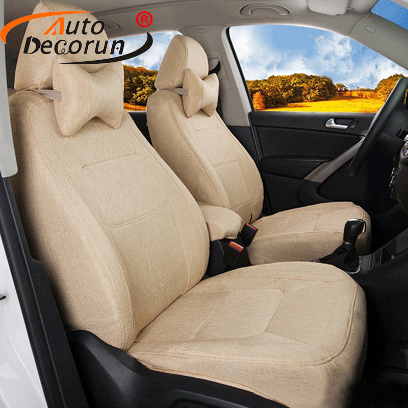 AutoDecorun Custom Fit Covers Sets Car for Mitsubishi Pajero Sport 2014 Seat Covers Cars ...