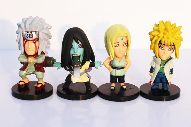 21x Naruto Action Figures