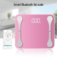 180kg USB Charging Smart Voice LCD APP Fat Scale Body Weighing Track Fat BMI Water Bone Mass for Apple/IOS Systems