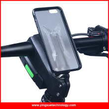 Stem Cap Bike Mount phone Holder Bicycle Grip Clip Aluminum Alloy with 3M tape Clip Fit TPU PC Case for iPhone 5/5S/SE/6/6plus