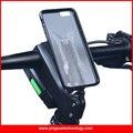 Tampa da haste da Bicicleta Montar Titular do telefone Bicicleta Aperto Clipe de Liga de Alumínio com 3 m de fita clipe fit tpu pc case para iphone 5/5s/se/6/6 plus