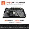 Firefly-RK3288 Перезагрузить Развития Борту, MiniPC, Quad-core A17 1.8 ГГц, поддержка Ubuntu и Android, HDMI2.0 4 К, 2.4 Г/5 Г AC Wi-Fi