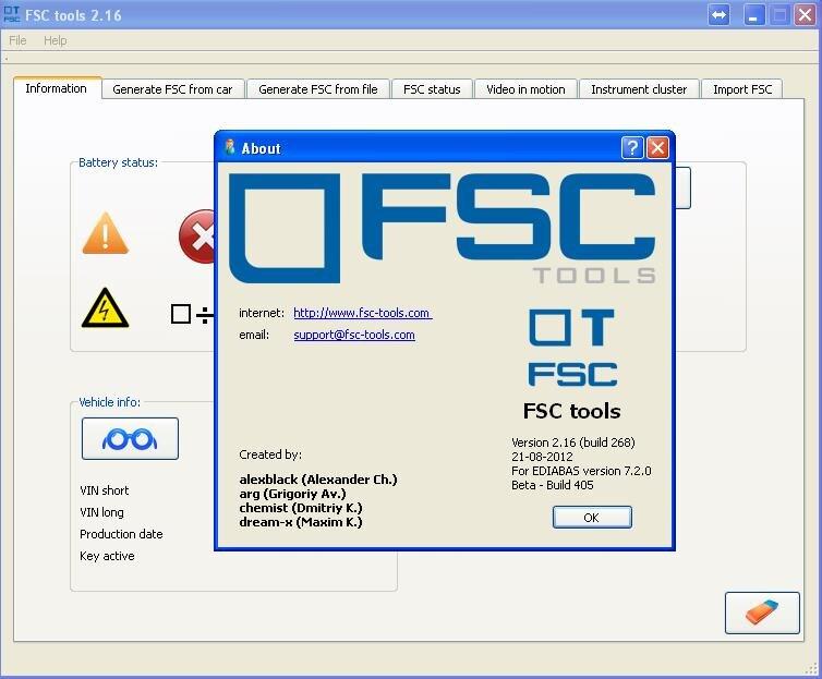 Fsc Werkzeuge V2.16 Moderater Preis