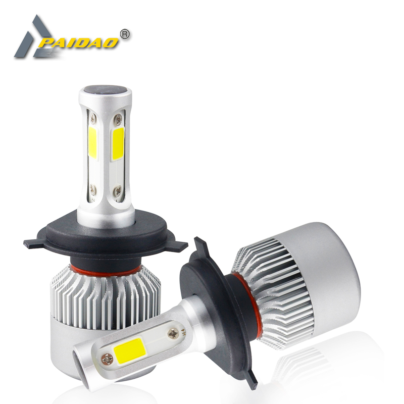 Led H7 H4 S2 COB Car Headlight 12V 72W 8000LM 9005 9006 Light  H3 H11 9004 9007 9012 Car Styling lamp 4300K 8000K Combo BulbsLed H7 H4 S2 COB Car Headlight 12V 72W 8000LM 9005 9006 Light  H3 H11 9004 9007 9012 Car Styling lamp 4300K 8000K Combo Bulbs