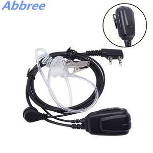 Baofeng Earpiece-Headset Walkie-Talkie Wouxun-Radio Abbree TYT BF-888S UV-82 Covert DM-5R