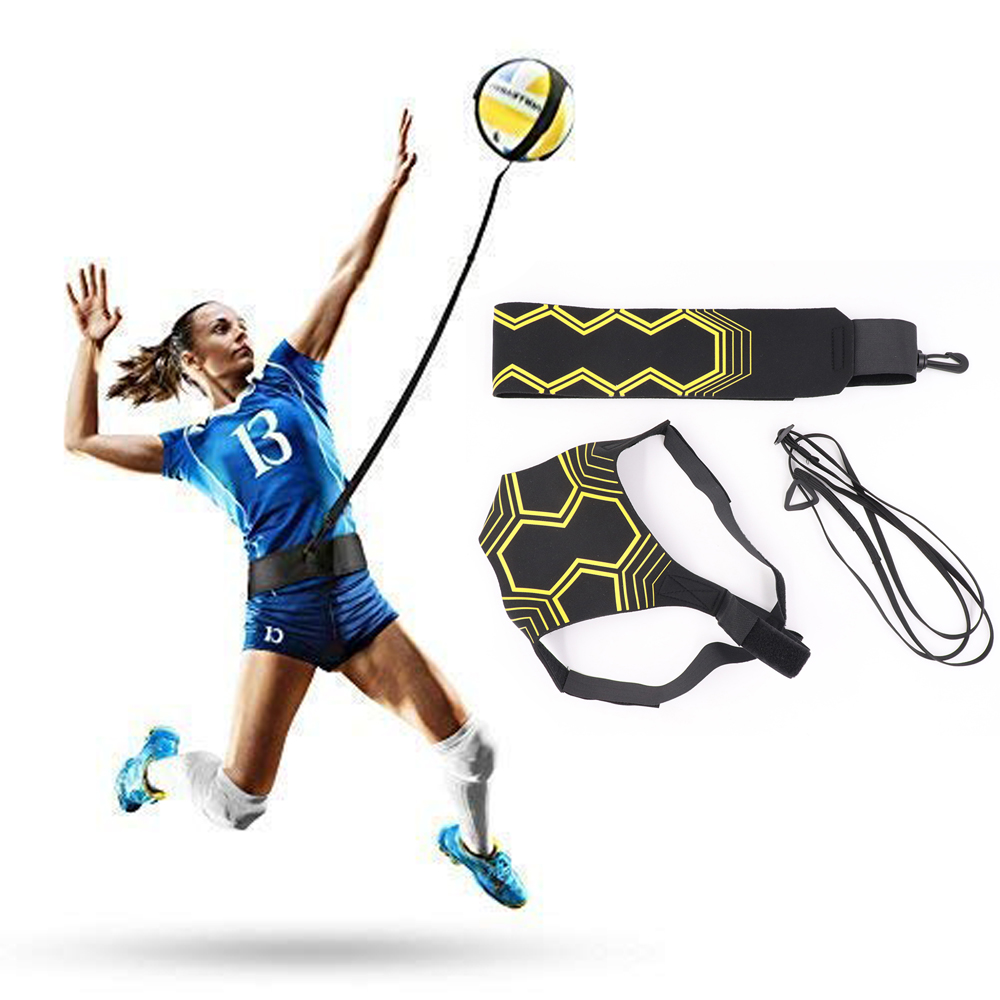 Volleyball Training Equipment Aid Practice Great Solo Serve Spike Trainer For Beginners Trainer Pro Perfect Volleyball Gift