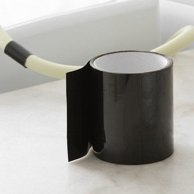 Resistente a la humedad y a prueba de humedad autoadhesiva cinta de agua para reparación de tuberías de baño