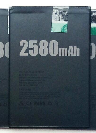 Jinsuli Gốc New Doogee X20 Pin 2580 mAh Polymer Li-Ion 3.8 V Pin Cho Doogee X20 Pin Điện Thoại BAT17582580