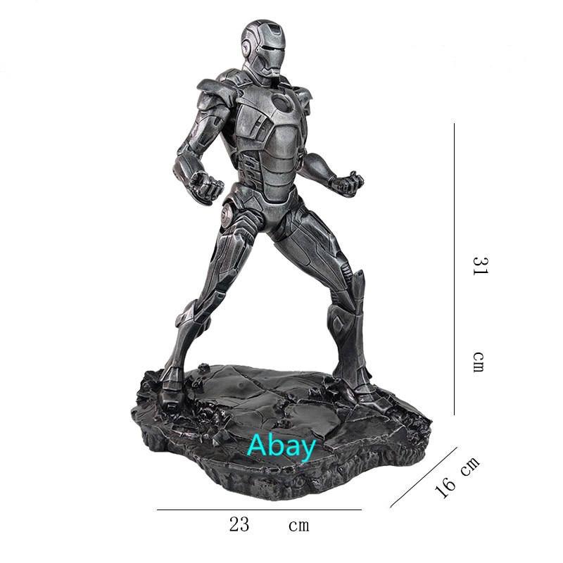 The Avengers Iron Man Iron Patriot 1//6 GK Model Statue Figure Multi-color Gift
