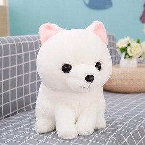 Image 3 - 1PC 40CM miękkie słodkie długi tren lis pluszowy zabawka nadziewane lalka dla dzieci moda Kawaii prezent na prezent urodzinowy dla dzieci wystrój sklepu domowego