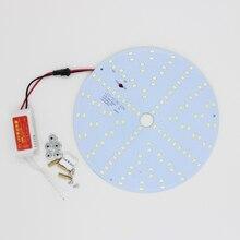 180-265V LED Panel Lamp 5730 10W 15W 18W 20W 25W 35W 45W Square/ Round Magnetic LED Ceiling Panel Light Plate Aluminium Board