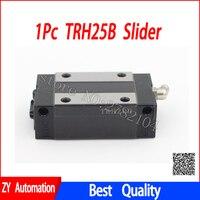 1 pc TRH25B TRH25 deslizante uso jogo bloco de guia linear para o transporte ferroviário linear CNC peças diy|Guias lineares| |  -