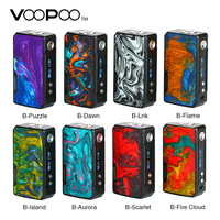 In Stock 177W VOOPOO DRAG 2 Box Mod No 18650 Battery Vape Mod Electronic Cigarette Vaporizer Drag Mod Vs Drag Mini / Shogun Univ