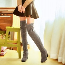 Sexy Over the Knee High Boots Big size shoes for Shemales & crossdressers