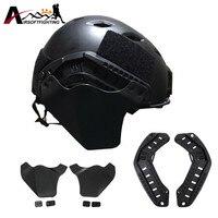 EMERSON Tactical Fast Kask ARC Rail Z Fast Helmet Up-Armor Pokrywy Bocznej Sprzętu Wojskowego Airsoft Paintball Kask Akcesoria