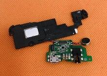 """Usado original usb plug placa de carga + alto falante para leagoo t5 mt6750t octa núcleo 5.5 """"fhd 1920x1080 frete grátis"""