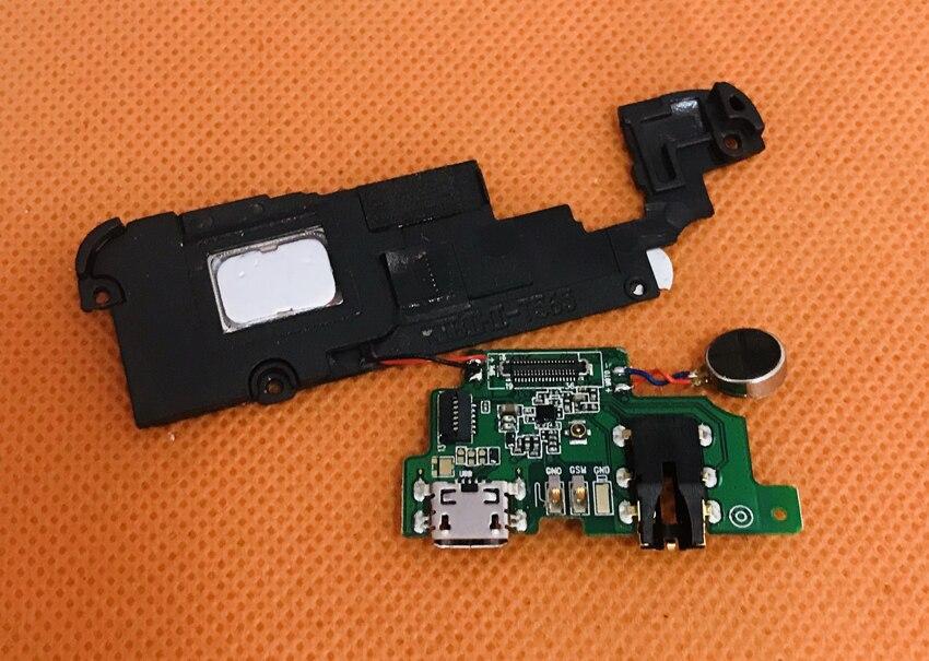 Used Original USB Plug Charge Board+Loud Speakrer For Leagoo T5 MT6750T Octa Core 5.5