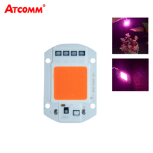 COB LED Grow Light 20W 30W 50W 110V 220V Smart IC No Need Driver Full Spectrum LED Diode fitolampy For Indoor Plants