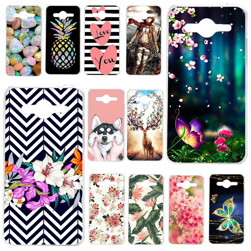 TAOYUNXI Silicone Phone <font><b>Cases</b></font> For <font><b>Samsung</b></font> Galaxy Core 2 Duos <font><b>SM</b></font>-<font><b>G355H</b></font> Dual <font><b>G355H</b></font> 4.5'' Back Protective Cover Coque Fundas <font><b>Case</b></font> image