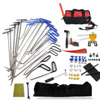 Furuix Hand Tools Ding Dent Repair Rods Professional Paintless dent remove for Hail Removal Big Kit
