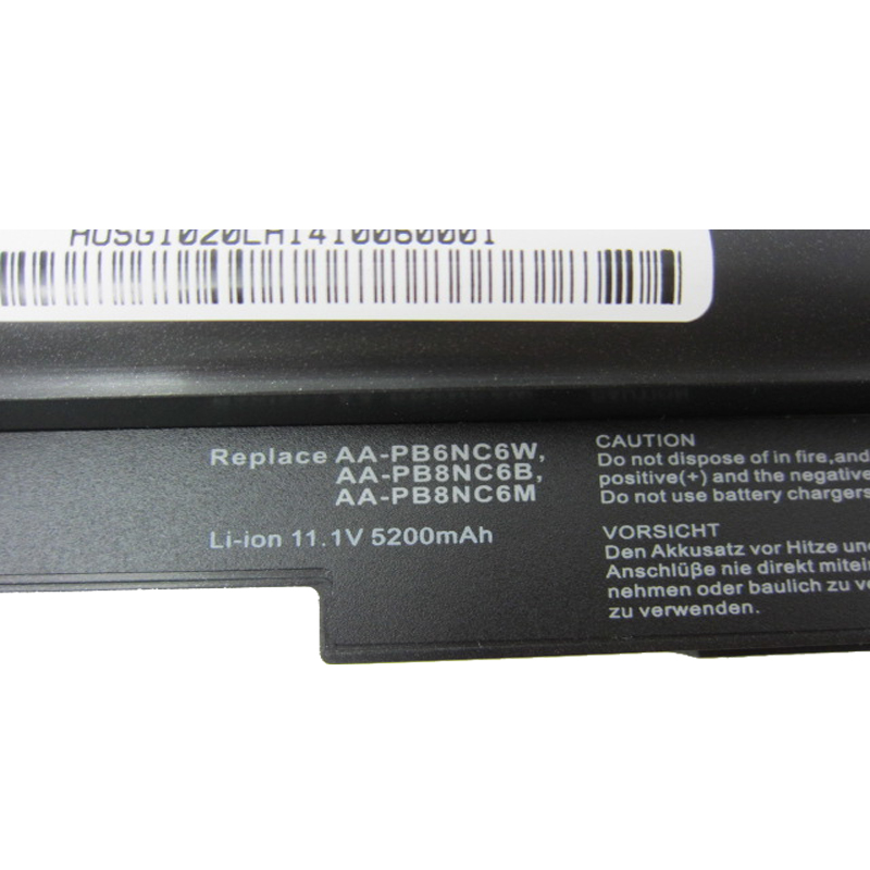 HSW battery for Samsung NC10 NC20 ND10 N110 N120 N130 N135 AA PB6NC6W 1588 3366 AA PB8NC6B AA PB8NC6M AA PL8NC6W bateria akku in Laptop Batteries from Computer Office
