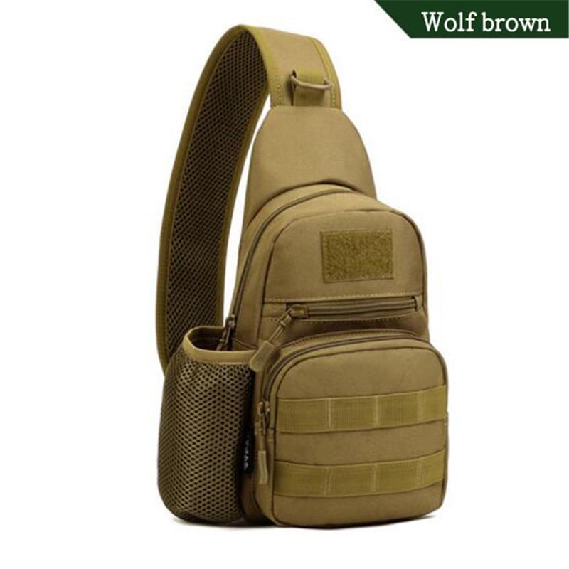 Popular Men's Bags Tactics Chest Backpack  Tourism Waterproof Nylon Bags  Leisure One Shoulder Men's Bags