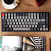Keycool 84 mini mechanical keyboard cherry mx clear switch brown PBT keycap mini84 compact game detachable cable
