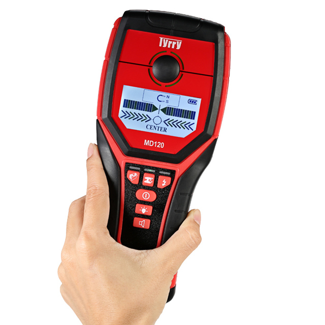 EEN Metaaldetector ondergrondse Multifunctionele Digitale Muur Detector pinpointer Metal Hout Studs Finder AC Kabel Live WireScanner