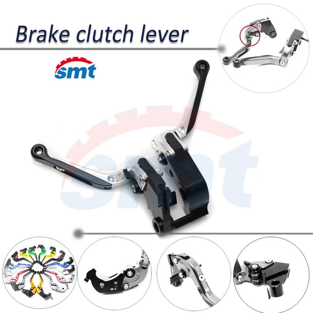 Silver motorcycle brake lever xj6 foldable extendable brake clutch lever FOR HONDA VTR1000F / FIRESTORM2003/2004/2005 прокладки клапанной крышки honda vtr1000f