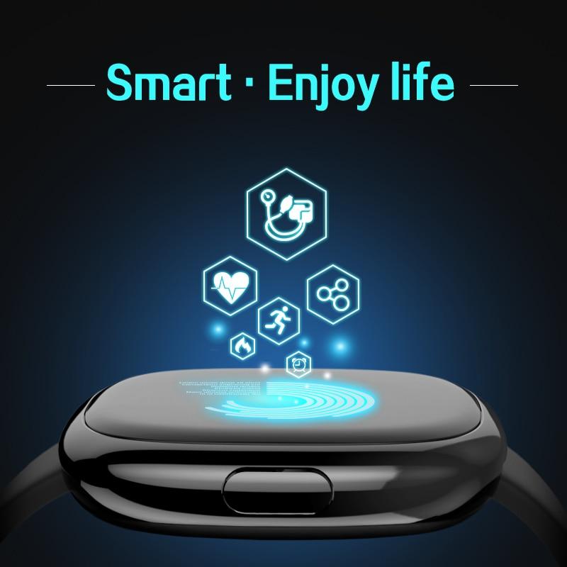 Smart Band Blood Pressure Heart Rate Monitor Smart Bracelet Pedometer Sleep Fitness Tracker цена 2017