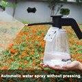 Rociador eléctrico de jardín 2L boquilla de pulverizador de presión Jardin botella de pulverización de alta presión pistola de agua de jardinería regadera de agua