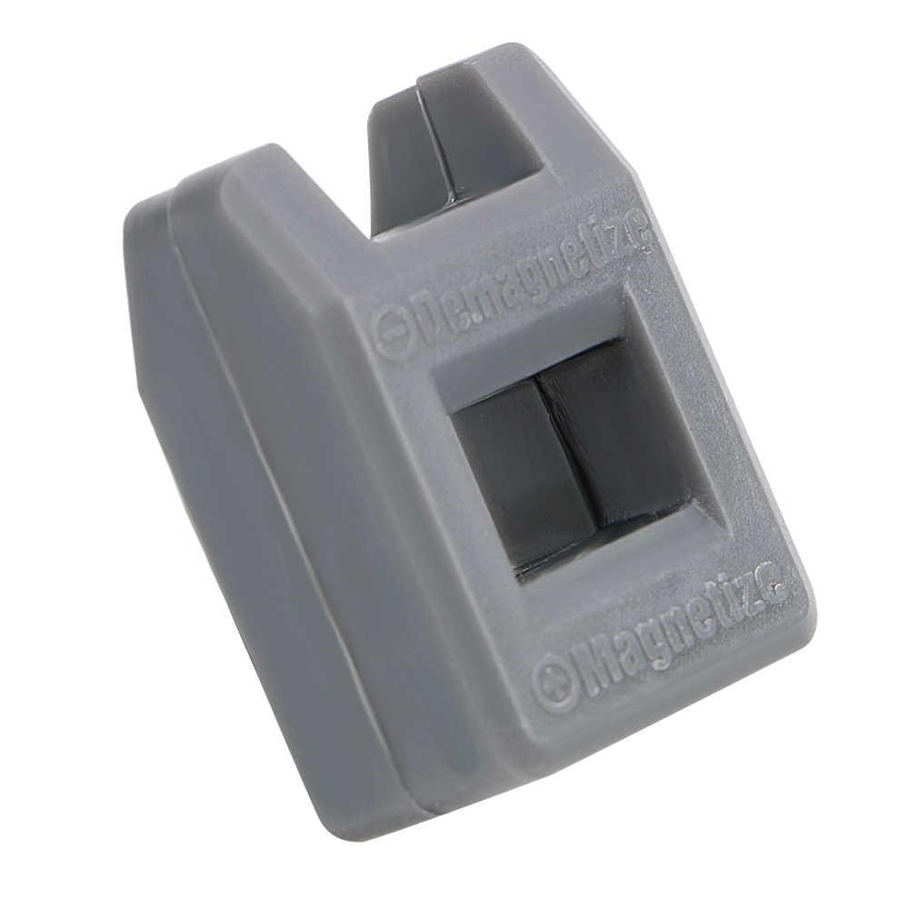 Mini 2 in 1 Cacciavite Strumento di Porcellana Smagnetizzatore Magnetizzatore Degausser Potente Rapidamente Porcellana Smagnetizzazione di Riempimento
