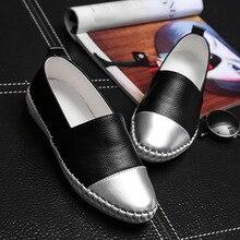 Marque de Haute Qualité Femmes Chaussures En Cuir Véritable Glissement sur Appartements Chaussures À La Main Mocassins Mocassin Plat Femmes Chaussures de Slipony 1019