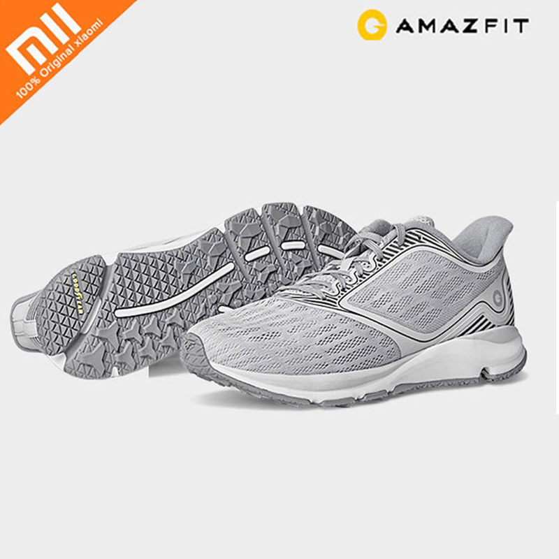 Original Xiaomi Amazfit Antelope Light Smart Shoes Man Outdoor Sports Shoes Support Smart Chip not include
