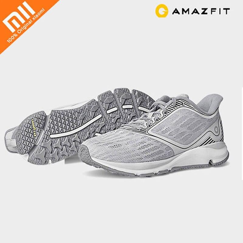 Original Xiaomi Amazfit antilope lumière chaussures intelligentes homme chaussures de sport de plein air soutien puce intelligente (non inclus) pk Mijia pour homme