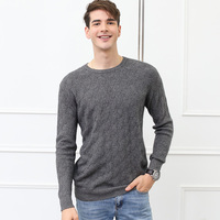 Adohon Cashmere Sweater Men Brand Clothing Mens Sweaters Plus Size High Quality Warm Wool Pullover Men