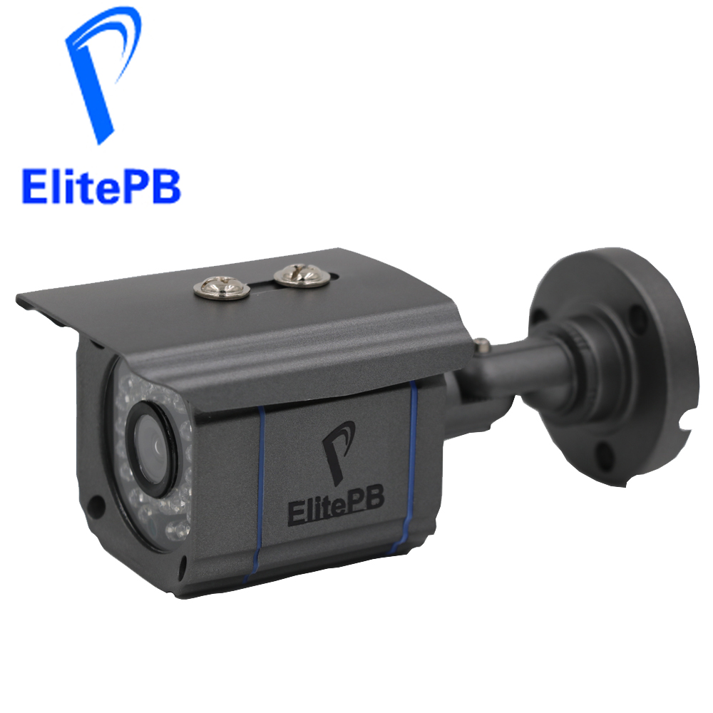 ElitePB Full HD 2.0MP Bullet IP Camera 1080P Outdoor Security Waterproof IR Night Vision P2P CCTV IP Cam ONVIF Support POE full hd 1080p bullet outdoor security camera ip 960p 720p 1mp free shipping