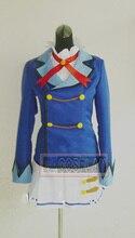 Envío de la Nueva Llegada Por Encargo anime Japonés Aikatsu aoi kiriya uniforme escolar cosplay traje