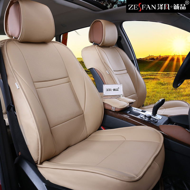 high quality fashion pu leather 5d customized car seat cover set for