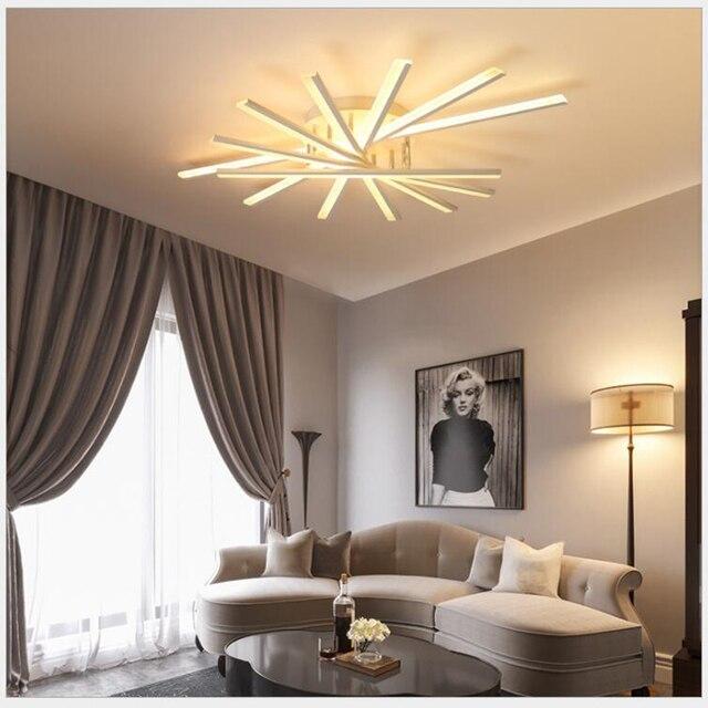 FULOC  Modern ceiling lights lamparas de techo for bedroom living room dining room home lighting